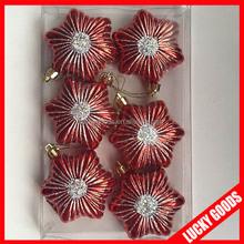 various design star shape christmas hanging decoration wholesale