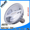 2015 new product low power consumption ar70 LED lamp