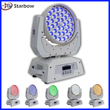 Hot! LED stage light 36x10w led moving head/ wash 36x10/12/15w zoom
