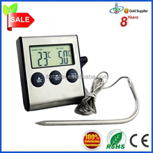 Digital hot shower/bathing water temperature thermometer alarm