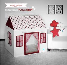 Lovetree hot design cotton fabric pet playhouse