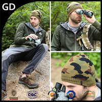 GDG1770 Out door beanie hat stylish custom military camouflage cap for men