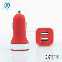 2015 New model Wholesale universal dual usb car charger,car battery