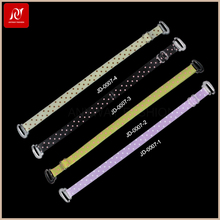 Oem Service Decorative Colorful Fancy Elastic Bra Straps From Factory Direct Sell