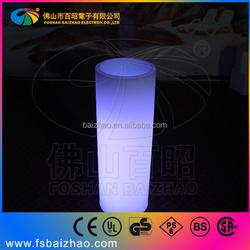 LED cylinder vase/wholesale flower pot
