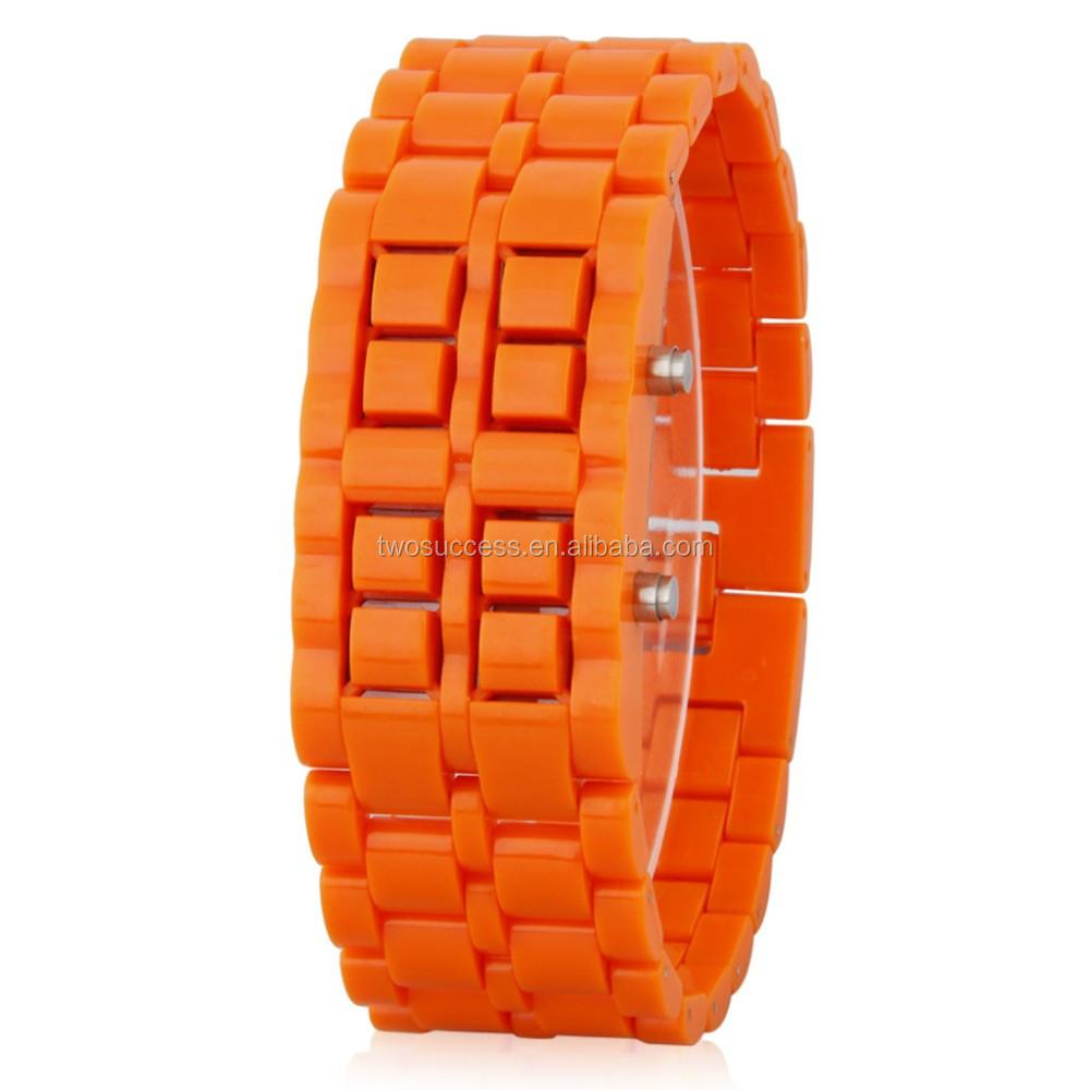 Lava LED chain watch (3)