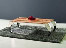 C157 modern design stainless steel base coffee table italian coffee table