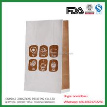 potato snacks paper food bag/packaging bakery paper bag for croissant