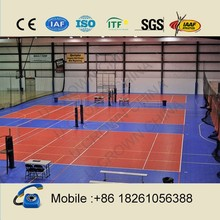 UV resistance volleyball court sports flooring for outdoor usage