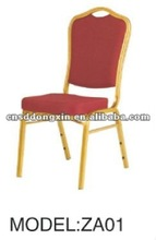 2015 Hot Sale Aluminum+ Fabric Hotel banquet conference Chair ZA01