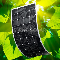high quality flexible solar panel 90W monocrystalline in china