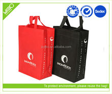 Customized recycled eco non woven material tote shopping bags
