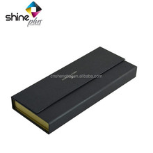 Gift paper clamshell box for tie packaging