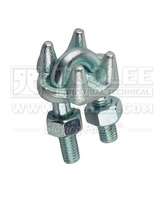 2105-Galv Malleable Wire Rope Clamp Type A For Lifting