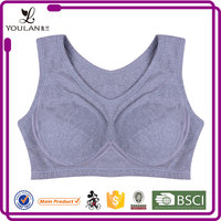 Impact Level hot sell top quality comfortable yoga sports women sexy nude bra