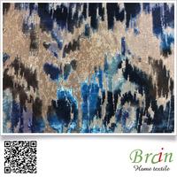 dubai hot sale jacquard velvet upholstery sofa fabric wholesale