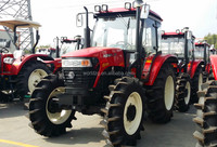 Chinese New Tractor with cabin or without cabin