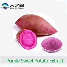 GMP Manufacturer pure natural Purple sweet Potato P.E. anthocyanin powder