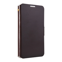 Doormoon Real Leather Case For Samsung Note 3 Leather Pure Colour Newest View Case Leather Case Mobile Magnetic Clasp
