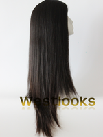 Kosher Certificated Hand Tied Unprocessed Real Looking Scalp Part Wig