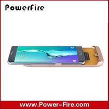 Hot Sale Factory Mobile Phone External Battery Case For Samsung S6 Edge Plus 5800mah