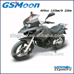 400cc racing motorcycle Meet Euro III / DOT/ CDOT / EPA