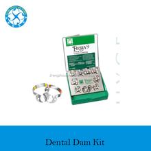 Dental Rubber Dam Kit / Rubber Dam Clamps Frame & IV Forceps