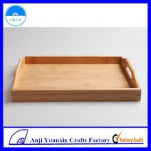 Different Accasion Use Square Bamboo Trays Design For Serving