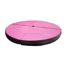 Pink Folding Pole Crash Mat, Yoga Dancing Pad,Musical dance mat