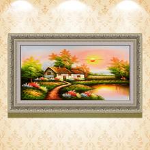 Tomash paisaje pintada a mano <span class=keywords><strong>imagen</strong></span> moderno pintura al óleo decoración