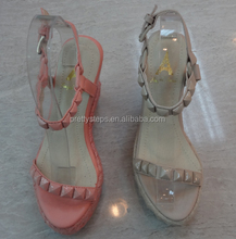 Pretty Steps 2014 wholesale women shoes china Spring & Summer 20 pairs MOQ