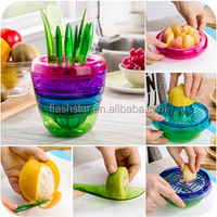 Multifunctional Fruit Plant Shape Fruit Cutter, DIY Salad Maker