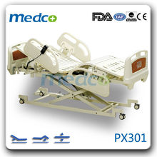 PX301 Electric three-function hospital bed medical equipment use in hospital(ultra-low)