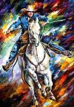 Horse painting image for room decoration