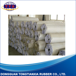 Rubber mat roll, Natural foam rubber roll material, Rubber mouse pad roll material