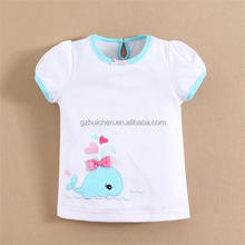 mom and bab 2015 baby clothes 100 cotton baby gril t shirt