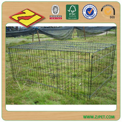 DXW001 black dog house wire pet cage
