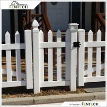 High Quality Plastic PVC Vinyl Garden Fence