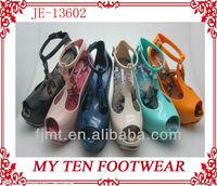 Good Quality Nice High Heel Jelly Shoes