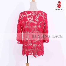 Beautiful Lace Top Class Factory Direct Price Garment Industry