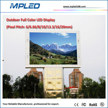 High precision LED of china manufacturer supply:p6 led screen with xxx video display full color as outdoor advertising screen