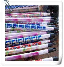 palos revestidos de PVC de plana escoba de Guangxi, China