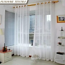 Dolly cutting flower 8 grommets window curtain