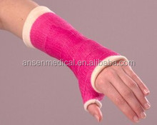 Water Activated Medical Synthetic Cast Roll Tape with Polyurethane Resin