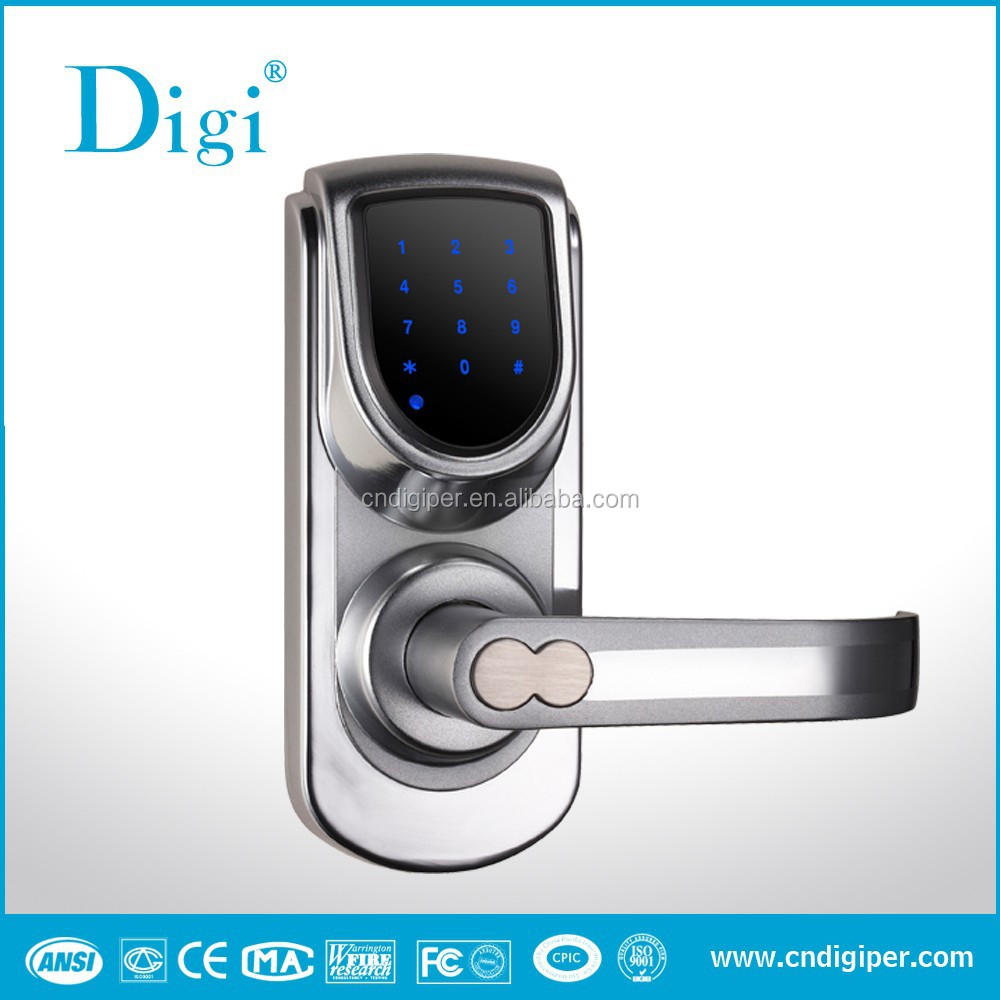 6600 101a wireless touch screen electronic keypad code for 1 touch door lock