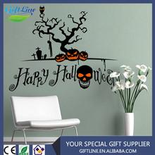 High Quality Halloween Sticker Decals/Halloween Wall Sticker
