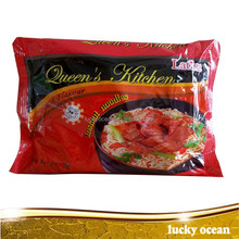 Queen's kitchen instant noodles 75g per bag beef flavor