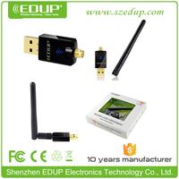 EDUP Newest 2.4GHZ&5.8GHZ 11ac 600mbps wireless wifi adapter with Realtek8811AU EP-DB1607