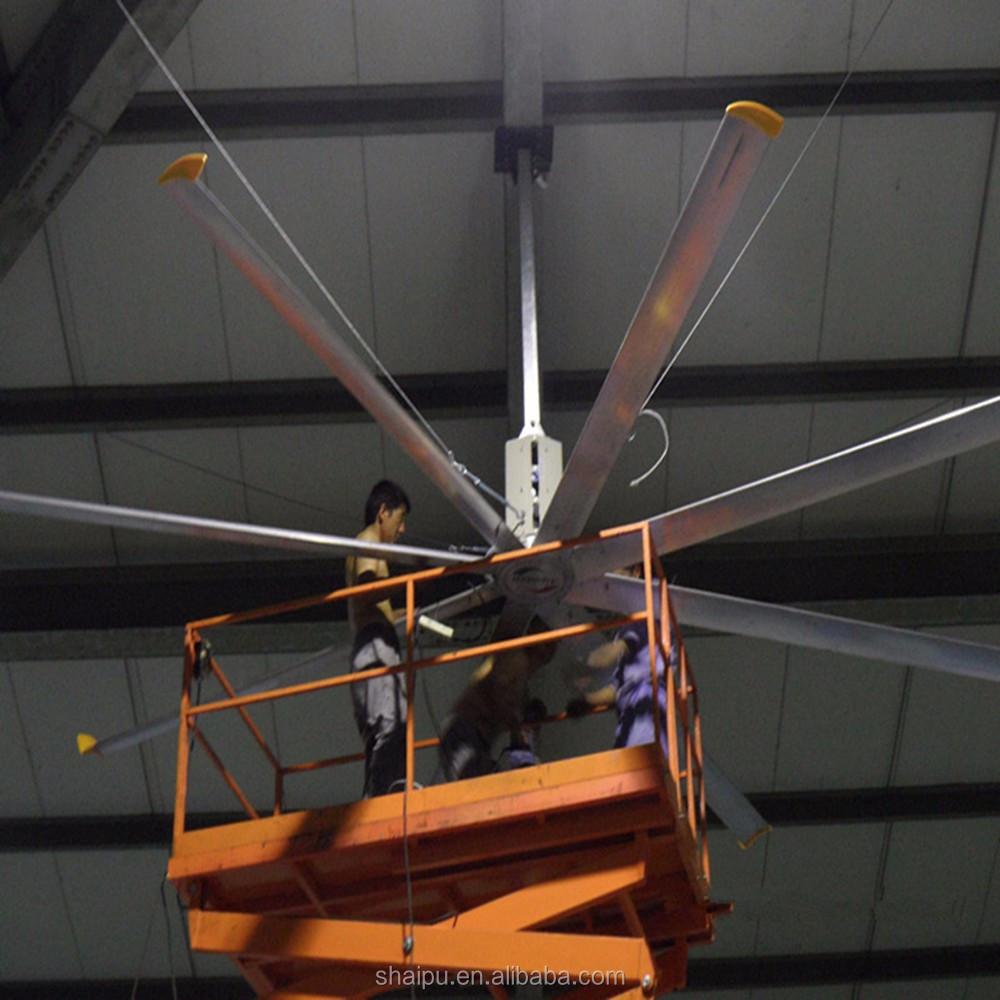 24ft Industrial Low Energy Garage Ceiling Fan Usa