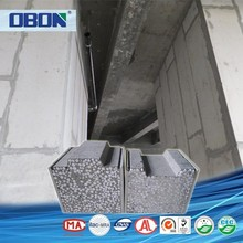 OBON seismic resistance lower cost precast cheap interior wall paneling